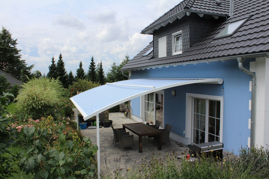 Eine Neue Markise Für Mehr Sonnenschutz