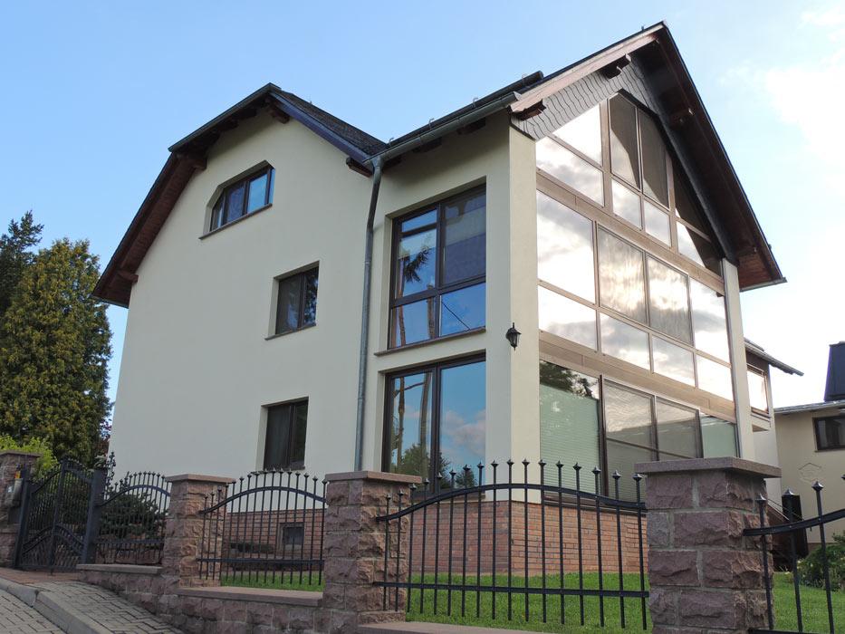 Hausfassaden Mit Neuem Anstrich Hofmann Maler