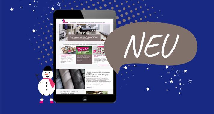 Maler Hofmanns neue Website