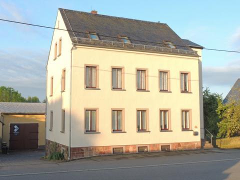 Neue Fassade von Malermeister Bernd Hofmann